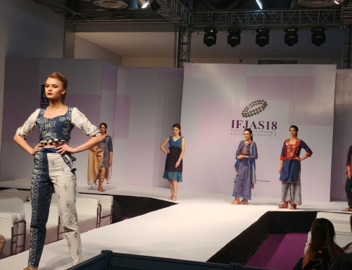 Applique Craft of Barmer was highlight at the Fashion Show during IFJAS 2018, organized by EPCH